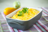 Zucchini casserole — Stock Photo