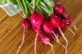 Natural radish — Stockfoto