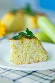 Rice casserole with zucchini — ストック写真