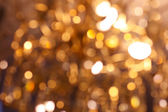 Abstract background with bokeh defocused lights — Foto Stock