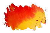 Aabstract hand drawn watercolor background, raster illustration — Stock Photo
