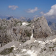 The highest peak at Albanian Alps — Stock Photo