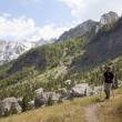 Extreme Albanian Alps — Stock Photo