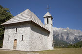 Church at Albanian Alps — Stock Photo