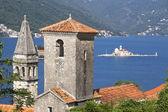 Montenegro - gamla medeltida medelhavsstad — Stockfoto
