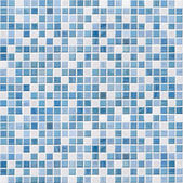 Blue tile wall high resolution real photo — Stock Photo