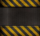 Przemysłowe metalowe szablon tło — Zdjęcie stockowe