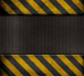 Industriell metall mall bakgrund — Stockfoto