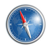 Compass isolated on white realistic illustration — Stock Photo