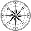 Simple compass rose — Stock Photo #21187649
