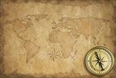 Keşif ve macera antika arka plan — Stok fotoğraf