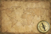 Adventure and exploration vintage background — Stock Photo