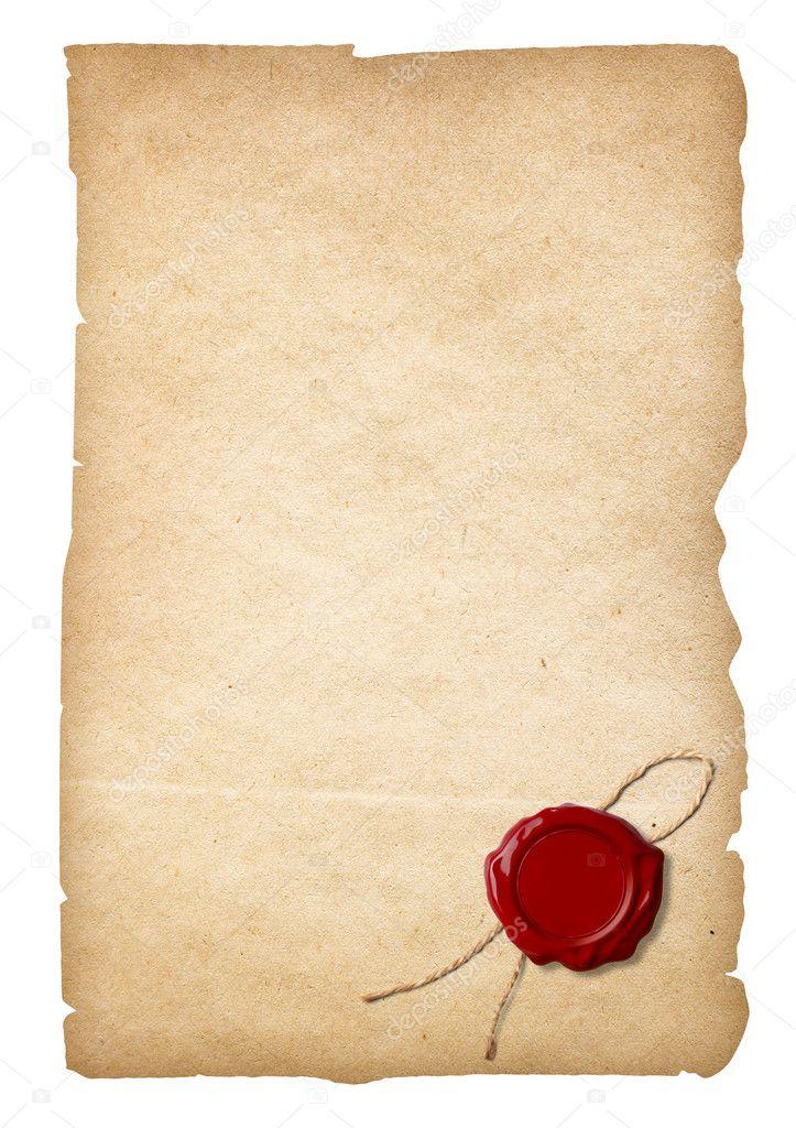 печать на старой бумаге деньги карты