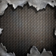 Grunge metal background - Stockfoto
