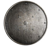 Metal shield isolated — Stock Photo