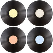Vynil gramophone record disk isolated — Stock Photo