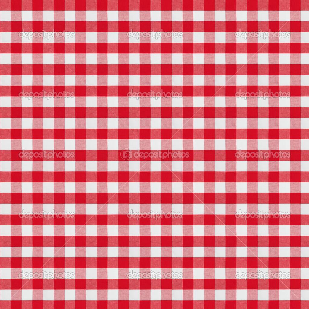 Nappe tissu damier rouge u2014 Photographie Andrey_Kuzmin ...