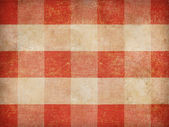 Vintage gingham tablecloth background — Stock Photo
