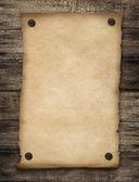 グランジ西部空白ポスターの背景 — ストック写真