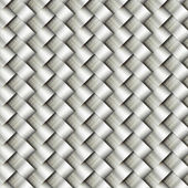 Wickerwork metal pattern background — Stock Photo