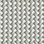Wickerwork metal pattern background — Stock Photo