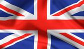 British state flag Union jack — Stock Photo