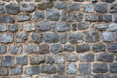 Old citadel stone wall background — Stock Photo