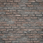 Brick wall seamless texture — Stock Photo