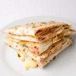 Piadina sandwich — Stock Photo