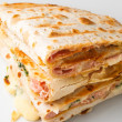 Piadina sandwich — Stock Photo #21294537