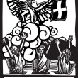 Judgement Tarot — Stok Vektör