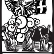 Stok Vektör: Judgement Tarot