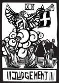 Tarot de jugement — Vecteur