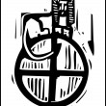 Tarot Card Wheel of Fortune — Stock Vector #19637971