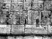 Chichen Itza Mayan Glyphs — Stock Photo