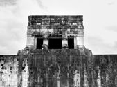 Mayan Ball Court Temple — Stock Photo
