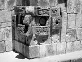 Chac Mask Uxmal — Stock Photo