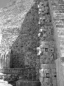 Pyramid of the Magicians Uxmal — Stock Photo