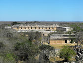 Nunnery Quadrangle Uxmal — Stock Photo