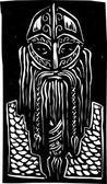 Viking Warrior — Stock Vector