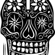 Day of Dead Skull — Stock Vector #25763179