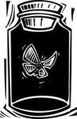 杀害 jar — 图库矢量图片