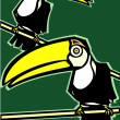 Two Toucans — Stock Vector #2853980