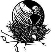 Earth Nest — Stock Vector