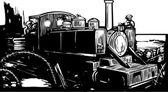 WWI Train — Stock Vector