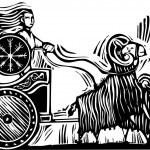 Постер, плакат: Norse Goddess Frigg