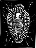 摩西篮子 — 图库矢量图片
