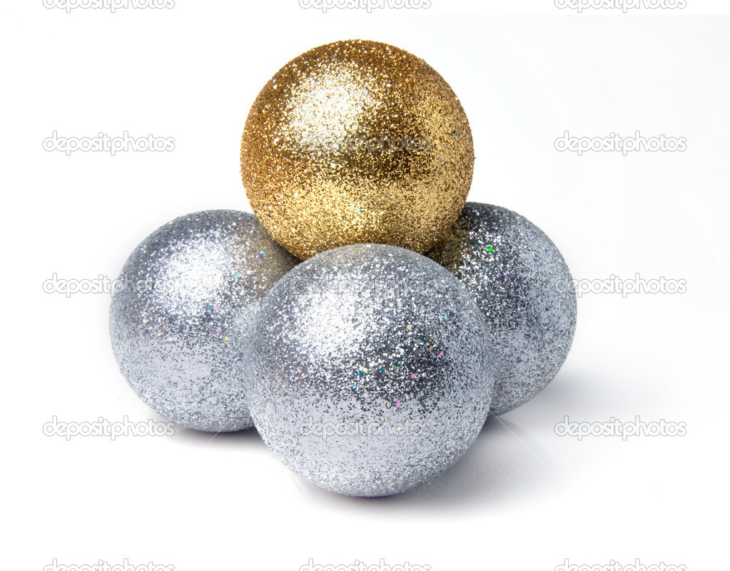 Christmas balls — Stock Photo #14978723