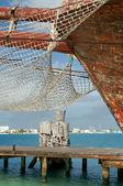 Ancient ship — Stock Photo