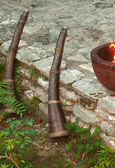 Mexican torches — Stock Photo